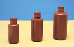 Frascos Reagente âmbar em Polietileno (PE)