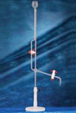 Microbureta com Torneira de PTFE com Base de Polipropileno