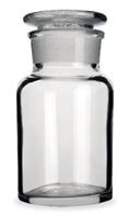 Frasco-Reagente-Alcalino-Incolor-Boca-Larga-com-Rolha-de-Vidro