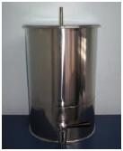 Barril de Aço Inox 304 ou 316L