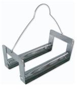Berço em Aço Inox  304 para Corar Lâmina Tipo Mola com alça