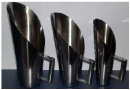 Concha Tipo Cereais em Aço Inox 304 ou 316L