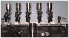 Conjunto de Filtração Manifold Completo em Aço Inox 304