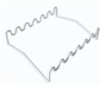 Estante Horizontal em Arame Revestida com PVC para Pipeta