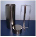 Estojo Cilíndrico em Aço Inox 304 para Esterilizar Placa de Petri