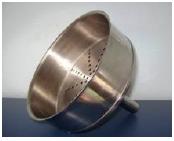 Funil de Buchner em Aço Inox 304
