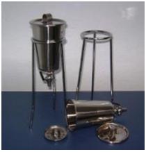 Percolador em Aço Inox 304 ou 316L