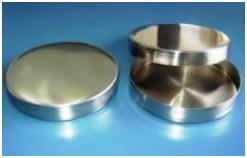 Placa de Petri em Aço Inox 304 com tampa