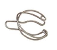 Presilha de aço inox, para acoplar juntas cônicas de 24-40