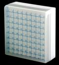 Caixa (Rack)  para tubos Criogênicos com tampa destacável numérico