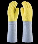 Luva Kevlar para Altas Temperaturas até 250ºC com Punho em Couro