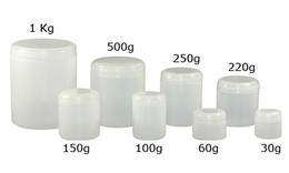 Potes Plásticos em Polietileno (PEAD) com tampa rosca